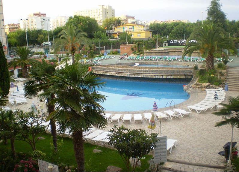Hotel Esplendid piscinas
